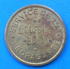 Bretagne L'Ouest éclair , service de la propagande , 20 centimes