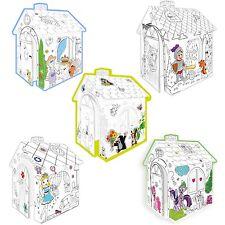 Malhaus Spielhaus Papphaus Bastelhaus Kartonhaus Kreativhaus Spielmöbel Malen