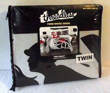 Disc Jockey Horse Duvet Cover Twin Black White Record Race Graphic Threadless