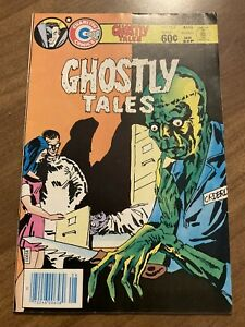 Charlton Ghostly Tales #162 comic book bronze age 1983 horror
