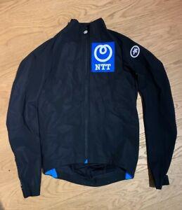 Assos Mille GT winter thermal jacket pro Team NTT rider issue Gibbons rapha aero