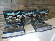 Vintage Micro Machines Space STAR WARS 1993 x 6 PACKS NEW/SEALED. EMPIRE / ROTJ