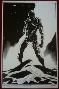 Terminator - 11x17 B&W Collecor Print By Mike Mignola - Dark Horse Comics