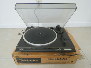 Working Technics SL-BD20 Automatic Turntable, Record Player & Box, Tonearm Issue