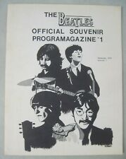 THE BEATLES OFFICIAL SOUVENIR PROGRAM MAGAZINE #1 SEPTEMBER 1978 CONNECTICUT