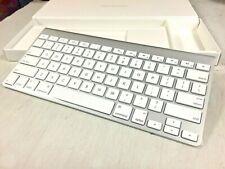 Apple Wireless Bluetooth Keyboard Slim Aluminum iMac Mac Mini A1314 MC184LL/B AA