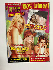 POSTER BRITNEY SPEARS STAR PLUS COLLECTOR   42 x 60 cm (12,8 x 18,2 inches)