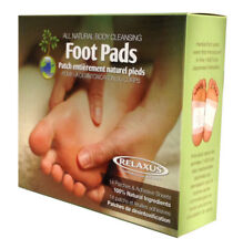 Relaxus Detox Body Cleansing Herbal Foot Pads CLEANSING FOOT PADS