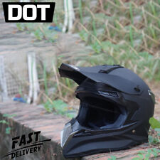 Racing Powersports Helmets Full Face Motocross Dirt Bike OffRoad Motorcycle DOT