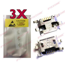 3 X New Micro USB Charging Sync Port Charger Socket For BlackBerry Q10 USA
