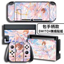 NS Skin Vinyl Decals Sticker Cardcaptor Sakura Full Set Fit For Nintendo Switch