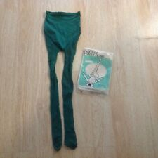 Vintage 1967 fishnet pantyhose in wild vibrant green! Appear never worn!