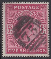 Numeral Cancellation Edward VII (1902-1910) British Stamps