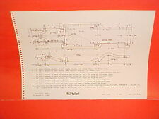 1962 PLYMOUTH VALIANT V-100 V-200 HARDTOP SEDAN WAGON FRAME DIMENSION CHART