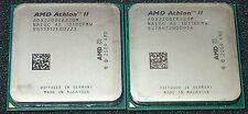 LOT OF 2  AMD Athlon II X 2  2.8 GHz  220 DUAL CORE Processor, ADX220OCK22GM,AM3