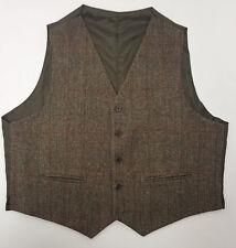 40R Harris Tweed Taransay Kilt Vest Only Scottish Made Priced to sell