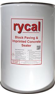 Block Paving Concrete Seal, Sealant Sealer Rycal Matte finish