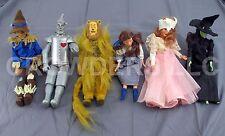 Vintage Wizard of Oz Dolls Dorothy Tinman Cowardly Lion Scarecrow Glinda & Witch
