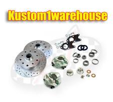 Bolt on link pin front disc brake conversion kit 5 lug Ford for VW Volkswagen