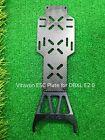 VITAVON LOSI DBXL E2.0 ESC Plate Black aluminum +black carbon fiber plate