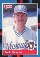 Robin Yount 1988 Donruss #295 Milwaukee Brewers baseball card  367
