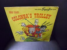 """Here Comes Colonna's Trolley 10"""" 78 rpm Capitol 1947 VG+"""