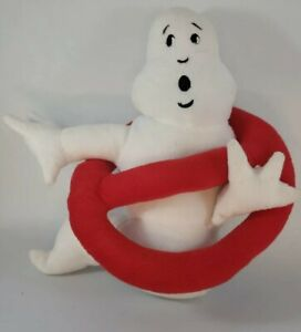 """Ghostbusters No Ghosts Logo 11"""" Plush Stuffed Sign Toy Ghostbuster  Ghost Buster"""