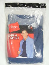 HANES - Mens Old Stock XL (46-48) 2pk Multi-Color Short Sleeve T-Shirt NWT