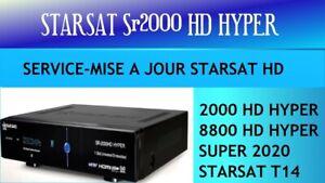 Service Starshare Compatible avec Recepteur Starsat SR-8800 /2000 HD Hyper