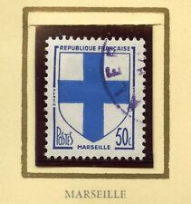STAMP / TIMBRE FRANCE OBLITERE N° 1180 *ARMOIRIE / MARSEILLE