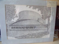 """Martin Barry Meyerhoff Symphony Hall Signed and Numbered Print 20""""x16"""""""