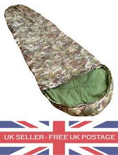 Multicam MTP BTP Sleeping Bag Army Cadets Military Forces Camping Fishing D of E
