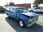 1975 Chevrolet Suburban  1975 Chevrolet SUBURBAN Salvage Title Damaged Vehicle Priced To Sell!! L@@K!!