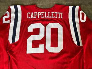 Authentic Ebbets Field Flannels Boston Patriots Gino Cappelletti Durene Jersey