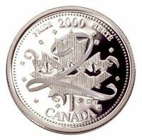 2000 Canada Millennium Series January - Pride Silver Proof 25 Cents Quarter!!