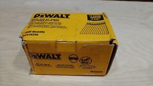 DEWALT DCA16250 2-1/2 INCH 16 GAUGE ANGLED FINISH NAIL 20 DEGREE 2500/BOX