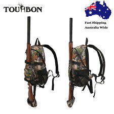 Tourbon Hunting Backpack Gun Holder Molle Bag Daypack Tactical Military Camo AU