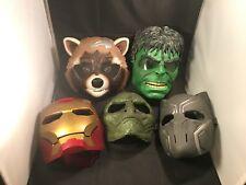 Marvel Masks – 5 Pieces Set – Rocket Raccoon / Hulk / Black Panther / Lizard +++