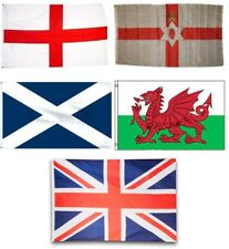 3x5 3'x5' Wholesale Lot Set United Kingdom 5 Flags Flag Uk England English
