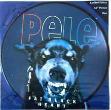 "PELE - Fat Black Heart (10"") (Picture Disc) (Signed) (EX/VG)"