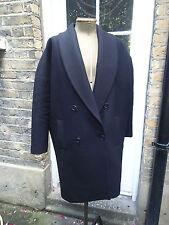 All Saints Italian Cloth Black Coat Size Small Barely Used!!!