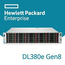 HP ProLiant DL380e G8 Xeon Eight 8-Core 25BAY Storage Rack Server 2U E5-2450L
