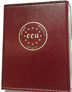 1987 BELGIUM GOLD/SILVER 2 Pc PROOF SET 50 & 5 ECUS, Commem. 30th Treaty of Rome