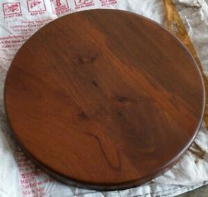 Round Wooden Stool Seat ( ONLY WOODEN TOP 30 CM DIA ) SET OF 3
