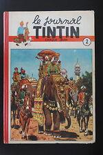 Reliure Recueil Album Tintin Belge 2 TTBE RARISSIME!
