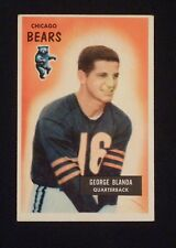 1955 Bowman #62 George Blanda - Chicago Bears