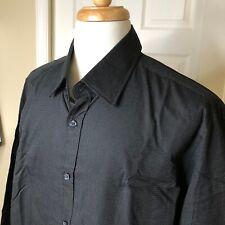 BOSS NEW MENS XXL DRESS SHIRT BLACK