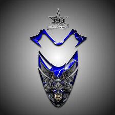 Polaris IQ RMK Shift Dragon Hood Graphics Decal Sticker  05-12 Guardian Blue