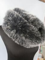 Braid Genuine Fox fur scarf circle scarves /wrap/ collar / cape /scarf new made