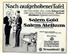 Orient. Tabak- u. Cigatettenfabrik Yenidze Dresden Salem Aleikum Salem Gold 1914